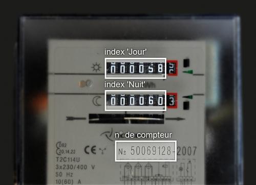 Faq lectricit gaz octa - Comment lire un compteur electrique ...